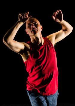 Mike Yaunish dancing portrait